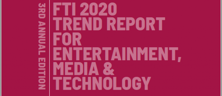 FTI 2020 Trend Report for Entertainment, Media and Technology (Future Today Institute)