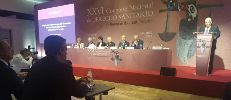 El secretario de Estado de Justicia inaugura el XXVI Congreso Nacional de Derecho Sanitario